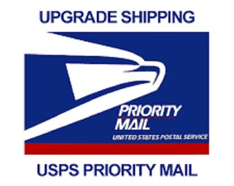 Need Your Order In A Jiffy? Upgrade To USPS Priority Mail Shipping 1-3 Day Delivery*