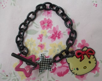 Hello Kitty Charm Bracelet, Gothic Lolita, Fruits, Cute, Kawaiix