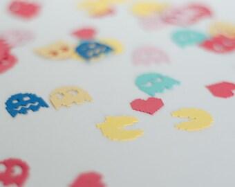 Pac Man Love Pac man and mis pac man Colourful Confetti