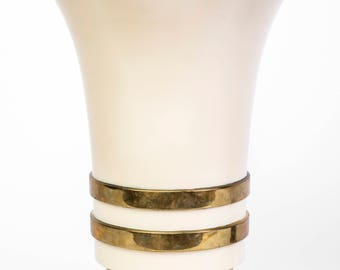 Elegant 1930's Art Deco Torchiere Table Top Lamp