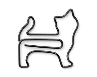 Midori: Standing Cat Paper Clips