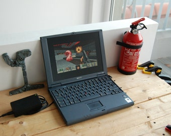 vintage notebook pc computer - HP OmniBook 900 - Great for MS-DOS Gaming!