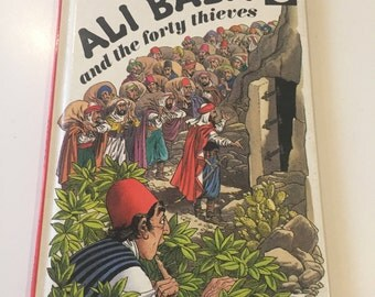 Vintage Retro 1970s 70s Ladybird Ali Baba and the forty thieves childrens book