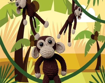 Amigurumi Chimps Crochet Pattern