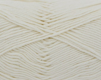 Cream (538) Bamboo Cotton Double Knitting