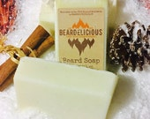 Homemade Beard Soap - Chocolate & Lime - Beard Wash - Beard Conditioner - Beard Softener - Beard Care For Him - Beard Care Products - Soaps