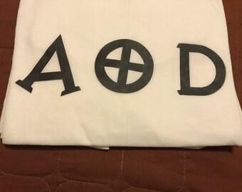 AOD Black Letter Shirt