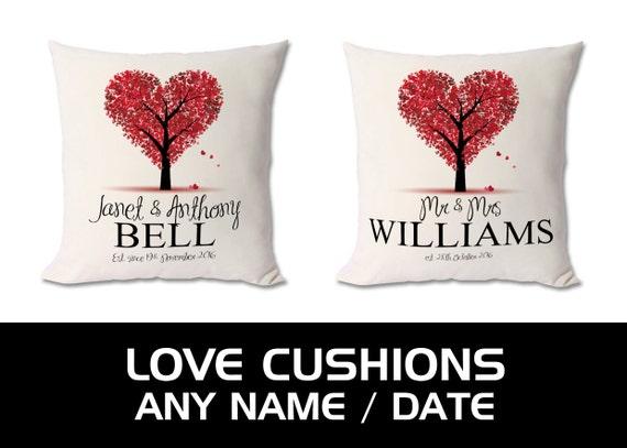 Wedding Cushion / Valentines / Anniversary / Engagement