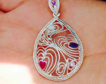 Abstract Dreamy Pendant