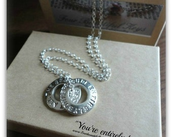 You're entirely bonkers.But i'll tell you a secret all the best people are. Necklace Alice in wonderland