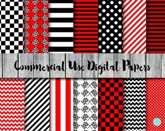 Racing Car Digital Paper, Racing Flags Digital Papers, Checkered Digital Paper, Commercial Use, Racing Scrapbook, Racing Background DP182