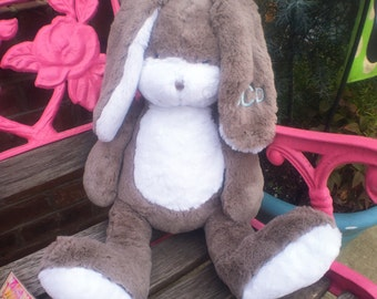 Easter Rabbit, Personalized Rabbit, Personalized Baby Gift, Easter Bunny