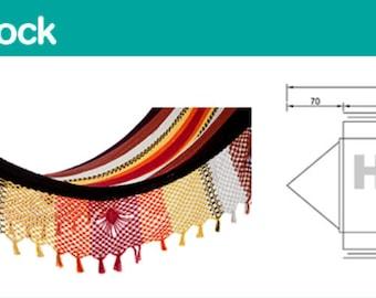 Pole Hammock, High quality 100% natural cotton, 26knots Hammock.