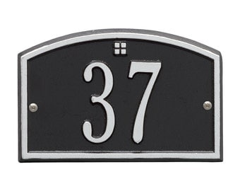 Cape Charles Petite Personalized Address Plaque