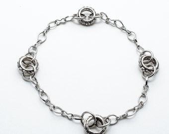 Antique silver bracelet MJ0097