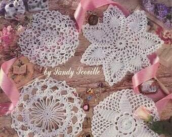 Little Doilies in Thread Crochet Pdf file Crochet book Crochet lace