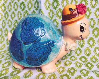 groovy turtle coin bank