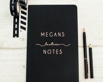 Luxury School Personalised Notebook