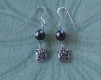 Sterling Silver Lauae Fern Earrings