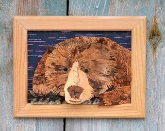 Bear wall art | Etsy