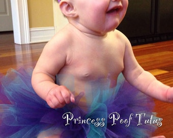 Lotta Poof Multicolor Baby Tutu - Any Colors Available