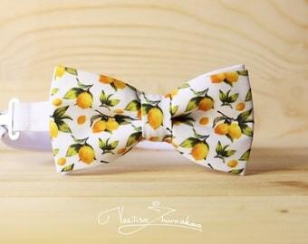 yellow lemons Bow tie - Bowtie