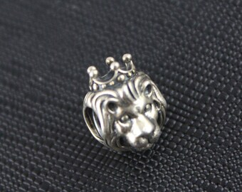 New Authentic Pandora Charm Bead King Of The Jungle 791377