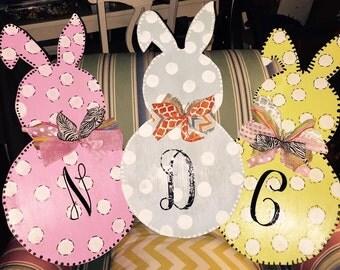 Custom Bunny Door Hangers