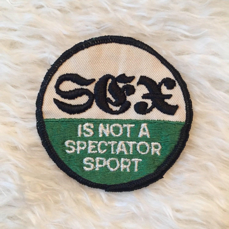 sex is not a sport