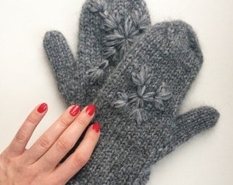Winter gloves, cozy, adult, child, wool, gift