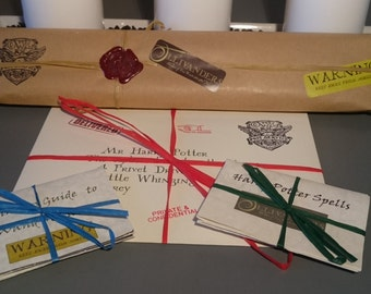 "Wizarding Gift Wand with ""Lost in the Post"" Acceptance Letter"
