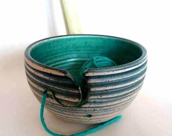 Yarn Bowl turquoise