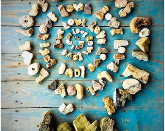 Love Rocks Spiral