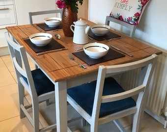 SOLD **** SOLD Table and 4 lovely Ercol chairs