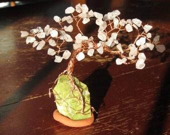 Beaded Wire Bonsai: Cherry Tree
