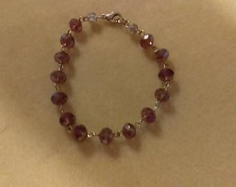 No. 389 Czech Crystal Bracelet