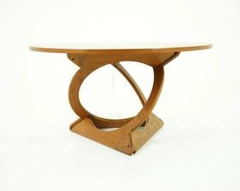 D213 Danish Mid Century Modern Teak Coffee Table by Georg Jensen