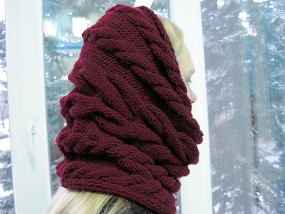 womens infinity scarf idea for her knitted wool oversized scarf sister gift for women friends girlfriend birthday  unique gifts for women