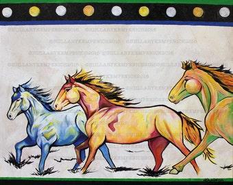 Bagwaji-mishtadimoog (Wild Horses)