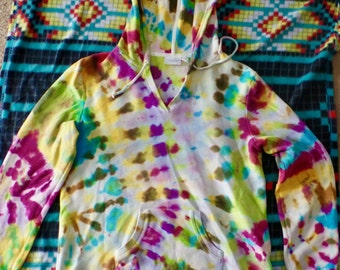 Womens Size M Tie dyed Hoodie