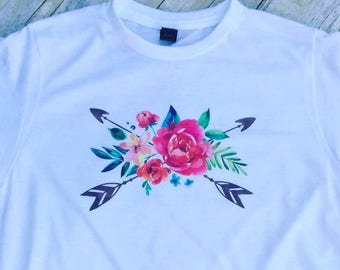 Floral Shirt| Boho Floral| Woman's Shirt