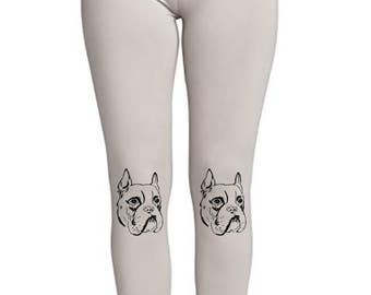 Boxer Face! - Soft Ladies High Waist Leggings