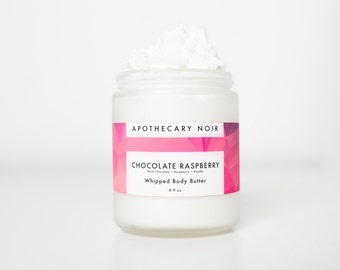 SALE- CHOCOLATE RASPBERRY -Limited- Body Butter