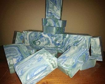 Peppermint Swirl CP Soap