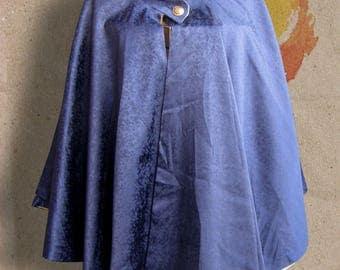 Small blue night cape Interior gold