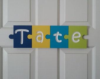 Puzzle piece letters, Name Puzzle, Puzzle letters