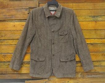 Rare Vintage HILFIGER Button Down Corduroy Jacket,Size M,Vintage Tommy Hilfiger Outdoor Jacket,Hip Hop,Street style,Skater,Swag