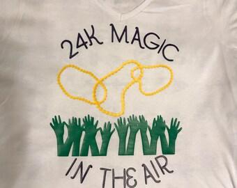Mardi Gras 24K Magic Inspired T-Shirt