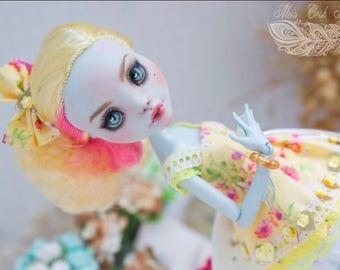 OOAK Custom Repaint Monster high OOAK Lagoona Blue repaint custom doll