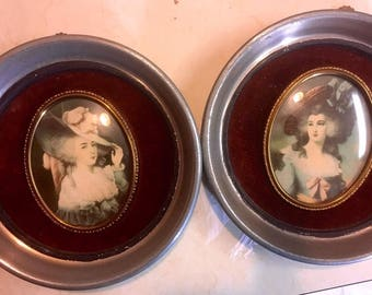 Cameo Creations Elizabeth Duchess of Devonshire and Lady Sheffield pictures.